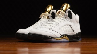 "直リンク掲載 8月20日発売 Nike Air Jordan 5 Retro ""White/Metallic Gold"""
