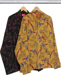 Birds Of Paradise Rayon Shirt