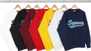Brush Script Crewneck