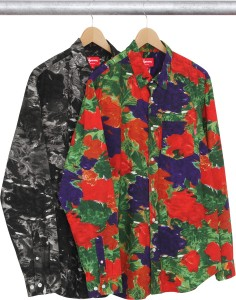Brushed Floral Shirt