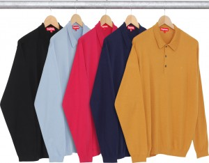 Knit LS Polo