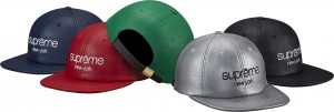 Leather Classic Logo 6-Panel