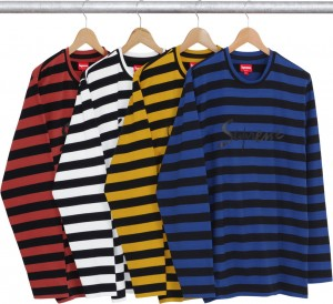 Medium Stripe LS Tee