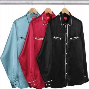 Satin Western Shirt