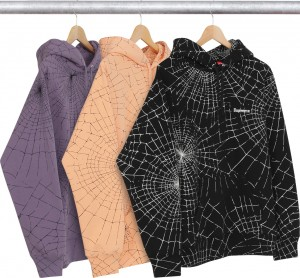 Spider Web Hooded Sweatshirt