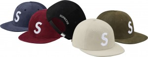 Suede S Logo 6-Panel