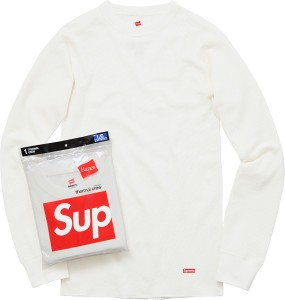 Supreme Hanes Thermal Crew (1 Pack)