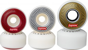 Supreme Spitfire Wheels (Set of 4)