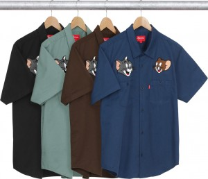 Supreme Tom & Jerry SS Work Shirt
