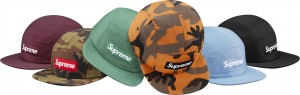Taffeta Quilted Camp Cap