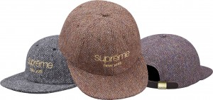 Wool Herringbone Classic Logo 6-Panel