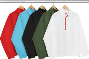 Zip Logo Pullover Windbreaker