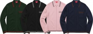 Zip Up Polo Sweater