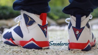 """直リンク掲載 8月6日発売 Nike Air Jordan 7 Retro """"Olympic"""""""