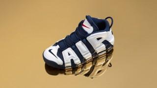 "【再販情報】10月25日発売予定 Nike Air More Uptempo""Olympic""(414962-104)"