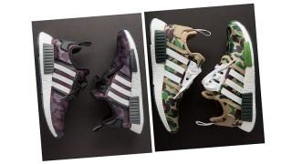 11月26日発売 adidas Originals by Bape NMD_R1 BAPE