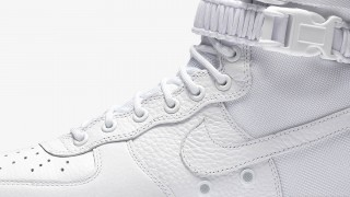 "12月8日発売 Nike Special Field AIR FORCE 1 ""Tripre White"""