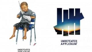 12月23日発売予定 UNDEFEATED x APPLEBUM