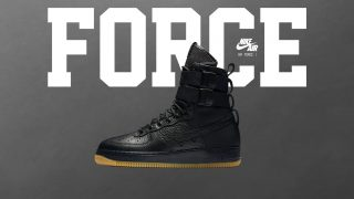 "2月17日発売予定 Nike Special Field AIR FORCE 1 ""FUTURE FORCE"""