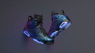 2月17日発売予定 Nike Air Jordan 6 Retro All-Star GOTTA SHINE