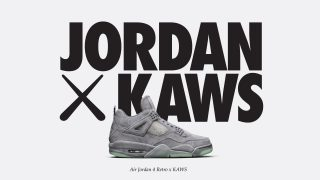 【3店舗限定】3月31日発売 AIR JORDAN 4 RETRO × KAWS COLLECTION(930155-003)