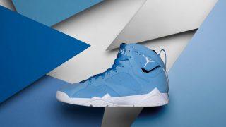 直リンク掲載 4月29日発売 Nike Air Jordan 7 Retro UNIVERSITY BLUE