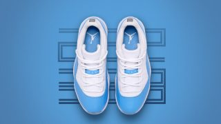 4月15日発売 Nike Air Jordan Retro Low UNIVERSITY BLUE(528895-106)