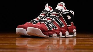 4月7日発売予定 Nike Air More Uptempo '96 'Bulls'(921948-600)