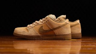 "5月25日発売 Nike SB Dunk Low TRD QS ""WHEAT""883232-700"