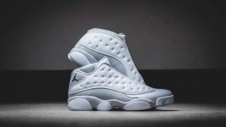 5月20日発売予定 Nike Air Jordan 13 Retro Low PURE PLATINUM