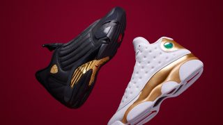 6月14日発売予定 Air Jordan 13 / 14 DMP Finals Pack(897563-900)