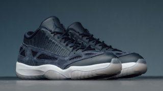 7月29日発売 Nike Air Jordan 11Retoro Low IE OBSIDIAN 919712-400