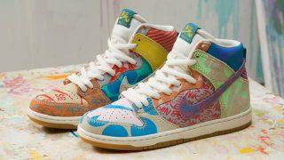 7月6日発売 Nike SB Zoom Dunk High Premium Thomas Campbell(918321-381)