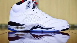 8月5日発売予定 Nike Air Jordan 5 Retro WHITE/UNIVERSITY RED(136027-104)