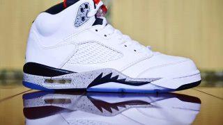 8月5日発売予定 Nike Air Jordan 5 Retro WHITE/UNIVERSITY RED(136027-104)