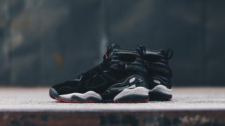 9月16日発売 Nike Air Jordan 8 Retro BLACK/GYM RED 305381-022