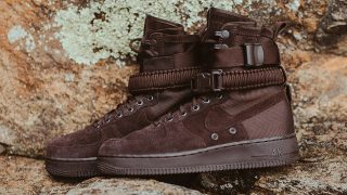 9月2日発売 Nike Special Field Air Force1 VELVET BROWN