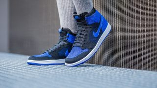 10月7日発売 Nike Air Jordan 1 Retro Hi Flyknit ROYAL 919704-006