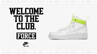 2月10日発売 Nike Air Force 1 HIGH 07 VIP 573967-101