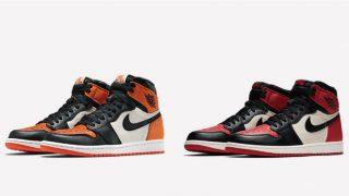2月24日発売 Nike Air Jordan 1 Retro High OG BRED TOE 555088-610