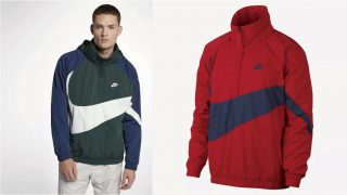 2月10日発売予定 NikeSportsWear AS M NSW JKT HD ANRK QS Big Swoosh