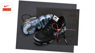 3月30日発売 Nike Air Vapormax Flyknit × OFFWHITE the ten AA3831-002