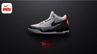 3月24日発売 Nike Air Jordan 3 Retro TINKER NRG AQ3835-160