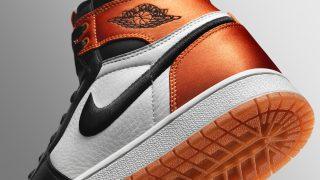 5月12日発売 Nike WMNS Air Jordan 1 RE HI OG SL Shattered Backboard Satin AV3725-010