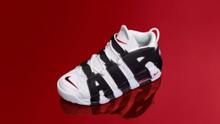 再販 6月23日発売 Nike Air More Uptempo IN YOUR FACE 414962-105