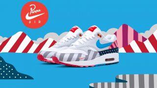 7月21日発売 Nike Air Max 1 × Parra AT3057-100