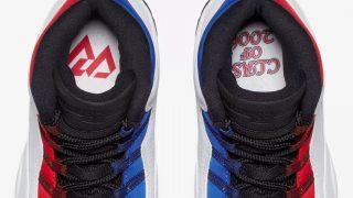 7月14日発売 Nike Air Jordan 10 Retro WHITE/UNIVERSITY RED 310805-160