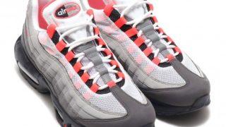"""9月1日発売 Nike Air Max 95 OG """"SOLAR RED"""" AT2865-100"""