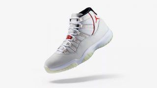 10月27日発売 Nike Air Jordan 11 Retro PLATINUM TINT 378037-016