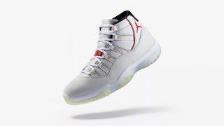 10月27日発売 Nike Air Jordan 11 Retro PLATINUM TINT 378037-016